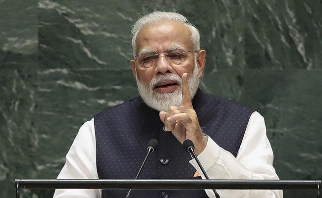 """""""বিশ্ব উষ্ণায়নের ভারতের অবদান খুবই কম"""", রাষ্ট্রসংঘে বললেন প্রধানমন্ত্রী"""