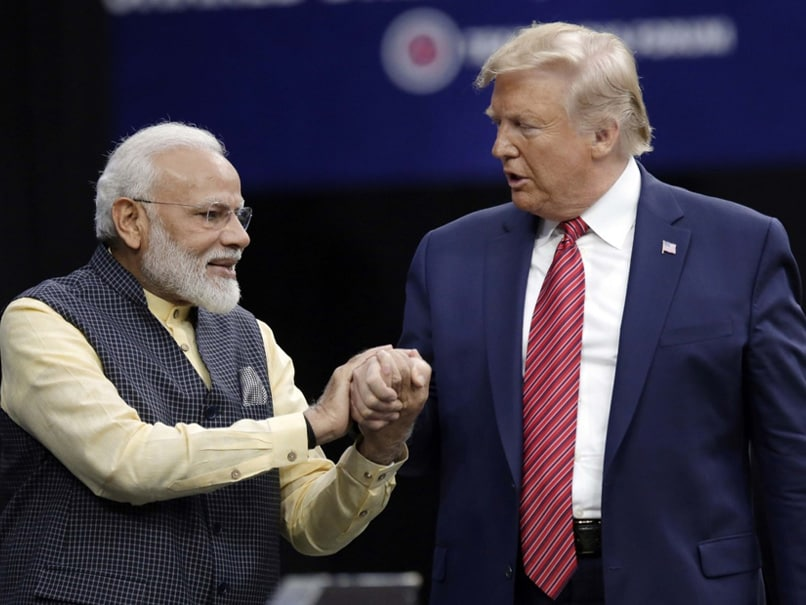 "Howdy Modi: Donald Trump Jokes He ""May Come"" To See First-Ever NBA Game In India"