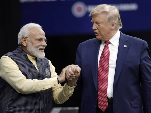 """Howdy Modi: Donald Trump Jokes He """"May Come"""" To See First-Ever NBA Game In India"""