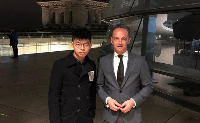 China Angered After German Minister Meets Hong Kong Activist