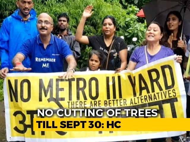 Video : No Trees To Be Cut In Mumbai's Aarey Colony Till September 30, Court Says Amid Protests