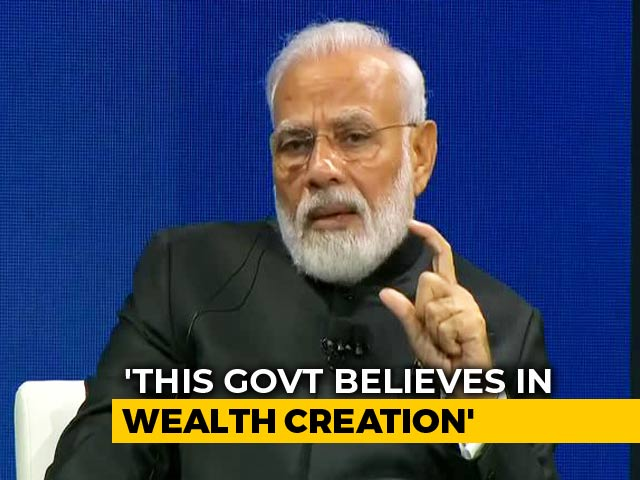 "Video : ""Come To India, If Any Gap I'll Act As Bridge"": PM Modi At Business Forum"