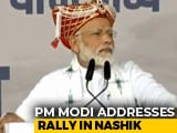 "Video : ""New Kashmir, New Paradise"": PM's Outreach At Maharashtra Rally"
