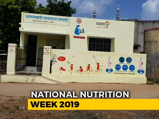 Video : Cleanliness And Nutrition Go Hand In Hand In This Anganwadi in Rajasthan