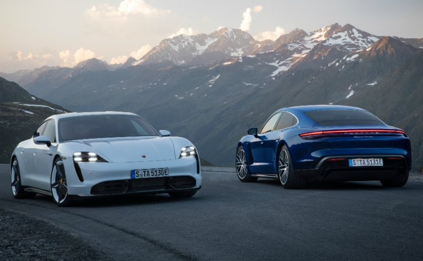 The Porsche Taycan is the company's first ever all-electric sedan!