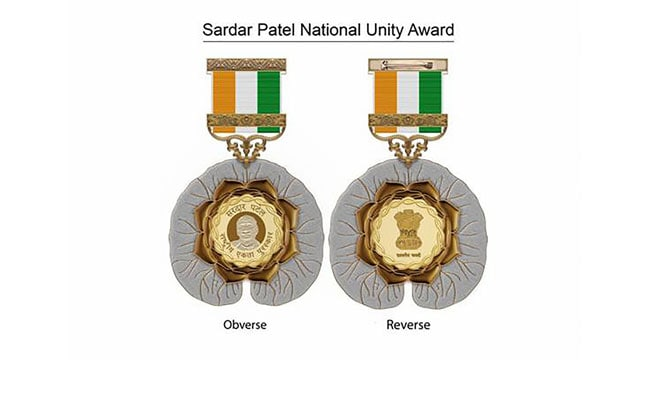New Civilian Award For National Unity Named After Sardar Patel