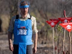 Prince Harry Walks Through Angola Minefield 22 Years After Mother Diana
