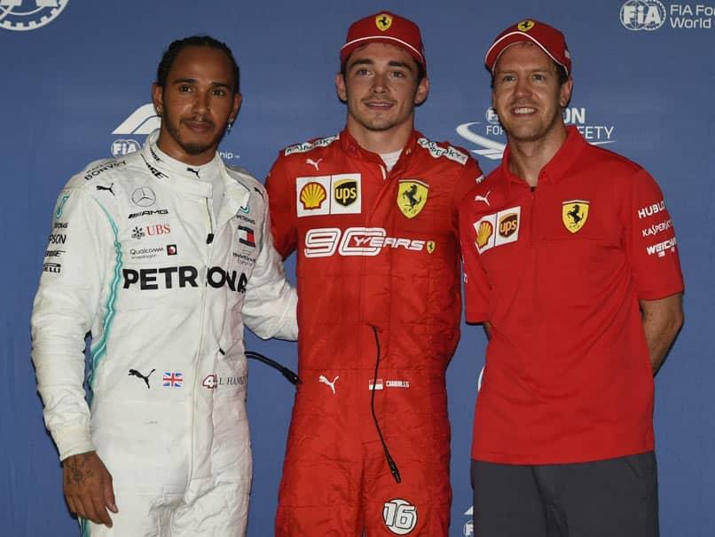 Ferraris Charles Leclerc On Pole For Singapore Grand Prix