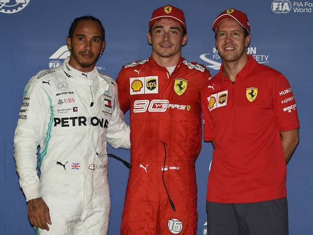 Ferraris Charles Leclerc On Pole For Singapore Grand Prix