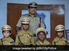 Five Children Take Charge As Bengaluru Top Cop For A Day