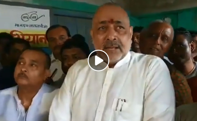 Giriraj Singh Fires Fresh Attack At Nitish Kumar, Party Hits Back
