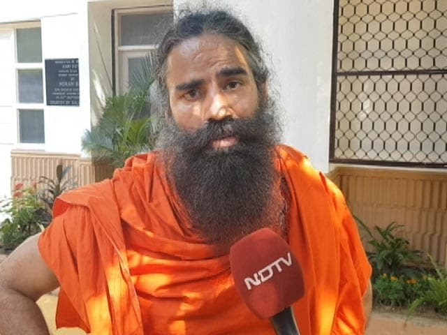 Video : Baba Ramdev Lends Support To NDTV-Dettol Banega Swasth India Campaign