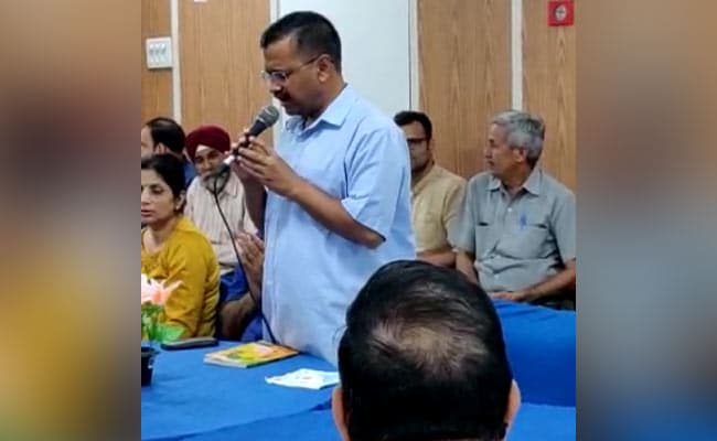 Watch: Chief Minister Kejriwal Sings At Event For Government Schools