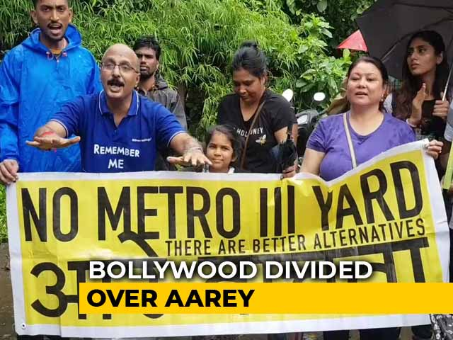 Video : The Aarey Debate: Is Bollywood Polarized?