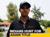 Video : Chance For Indian Golfer's Next Generation To Strike Big