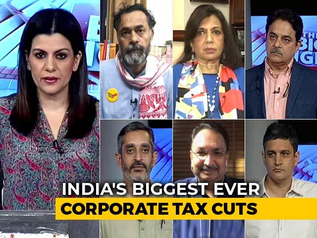 Video : New Corporate Tax Cuts: Big Move To Kick Start The Economy?