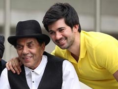When Karan Deol Was 'Shocked' To See '<I>Bade Papa</I> Dharmendra On <I>Pal Pal Dil Ke Paas</i> Sets