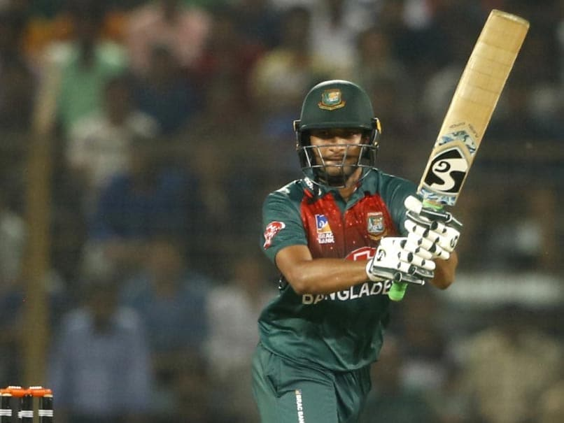 Shakib Al Hasan Powers Bangladesh To Win Over Afghanistan