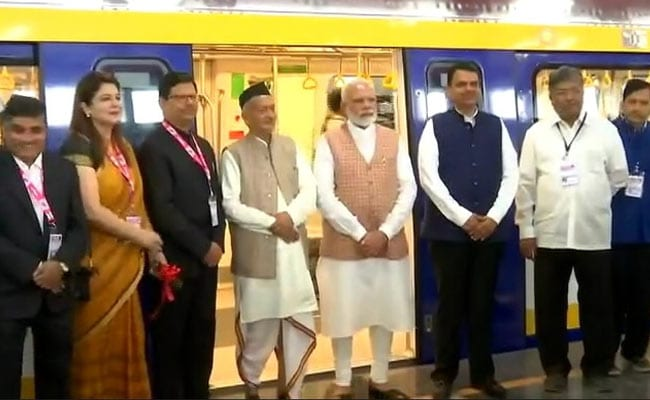 PM Modi Inaugurates First 'Make in India' Metro Coach In Mumbai: Highlights