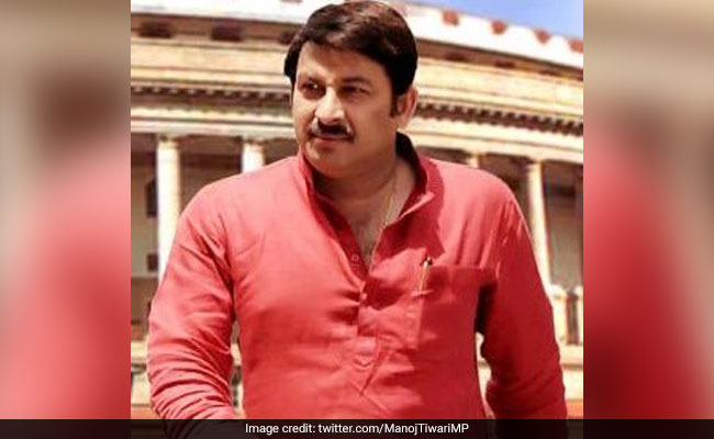 """Uncontrolled Panic"" In Delhi Over Drinking Water, Says Manoj Tiwari"