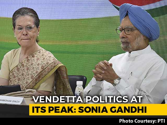 Video: '2019 Mandate Being Abused In Most Dangerous Fashion': Sonia Gandhi