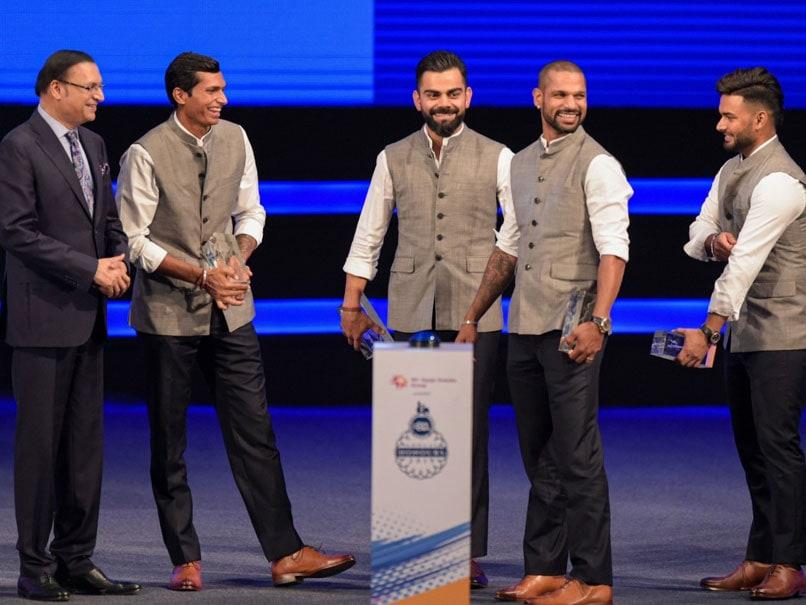 """Watch: Shikhar Dhawan, Ravi Shastri """"Spill The Beans"""" On Virat Kohlis Music Playlist"""