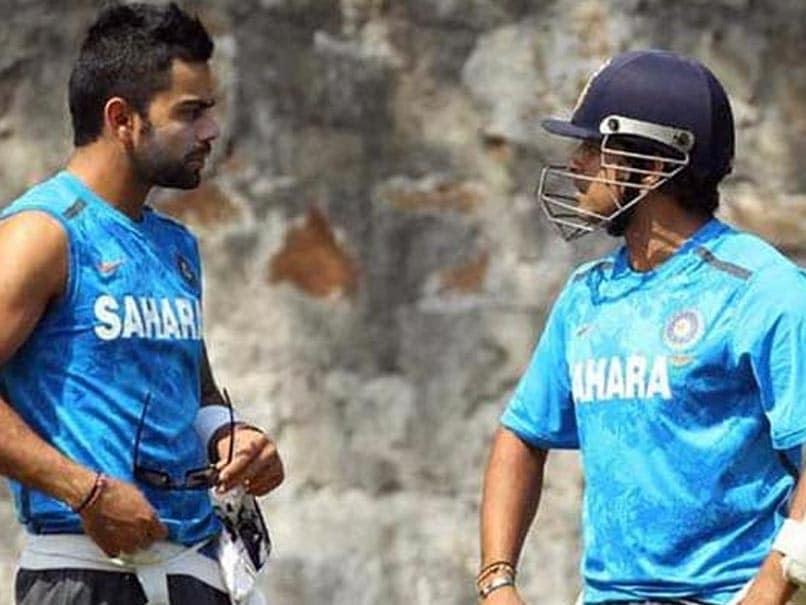 Virat Kohli says, I wanted to bat like Sachin Tendulkar