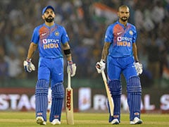 Virat Kohli, Shikhar Dhawan Rise In ICC T20I Rankings After South Africa Series