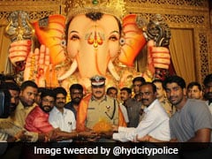 Ganesh Immersion Procession Underway In Telangana Amid Tight Security