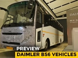 Video : Daimler BS6 Vehicles Preview