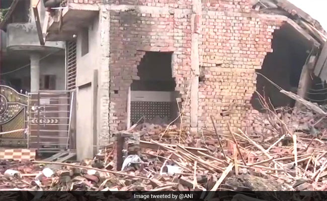 Rescue Operations On After Blast At Firecracker Factory In Punjab: Police