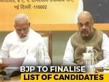Video: PM, Amit Shah Meet To Finalise Haryana, Maharashtra Poll Candidates