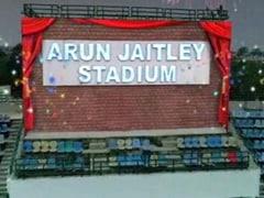 अब अरुण जेटली स्टेडियम के नाम से जाना जाएगा दिल्ली का फिरोजशाह कोटला