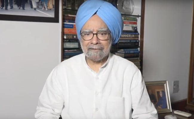 Need 'Well Conceived Strategy' For 5 Trillion Economy: Manmohan Singh