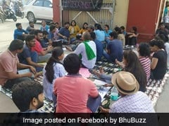 Protest At BHU After Professor Accused Of Sexual Harassment Returns