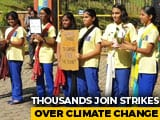 Video : Young Protesters March In Thiruvananthapuram, Demanding Focus On Environment