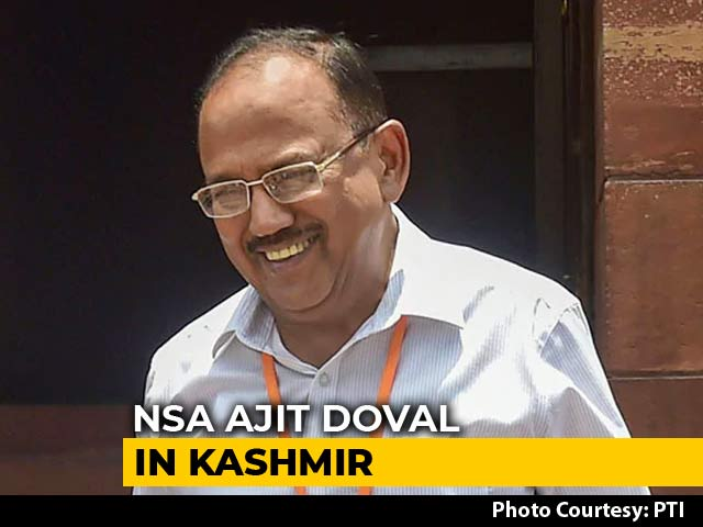 Video : Ajit Doval In Kashmir On Second Visit Since Scrapping Of Special Status