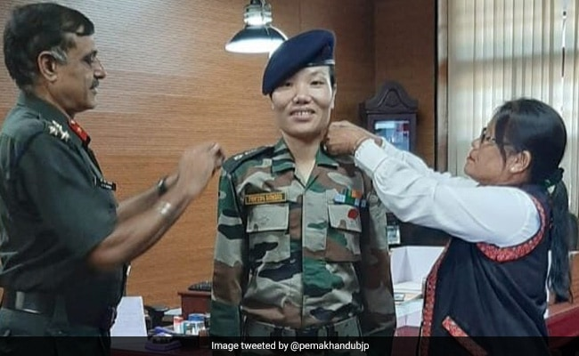 Ponung Doming Is Army's First Woman Lieutenant Colonel From Arunachal