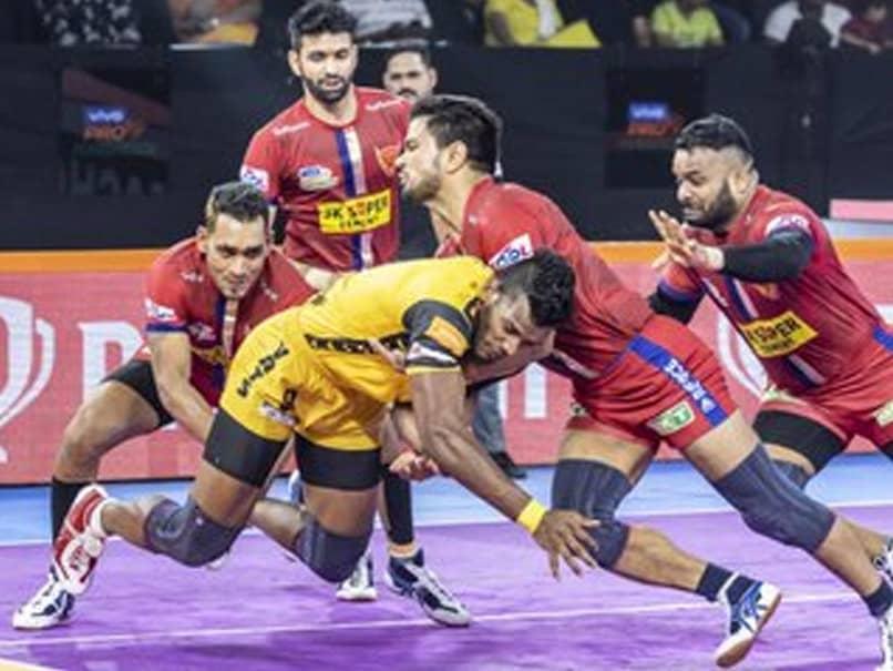 Pro Kabaddi: कुछ ऐसे Dabang Delhi प्ले-ऑफ में पहुंचने वाली पहली टीम बनी