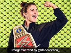"""Who Trynna Square Up?"": US Open Champion Bianca Andreescu Wows Fans With Her Customised WWE Belt"