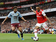 Arsenal vs Aston Villa: Pierre-Emerick Aubameyang