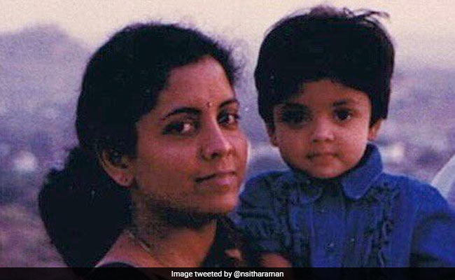 'Friend, Philosopher': Nirmala Sitharaman's Nostalgic Pic With Daughter