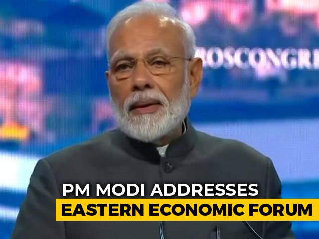 "Video : ""India Has Old Ties With Russia's Far East,"" Says PM At Regional Meet"