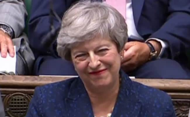 Theresa May, Back In Parliament Amid Brexit Chaos, Is No Longer Target