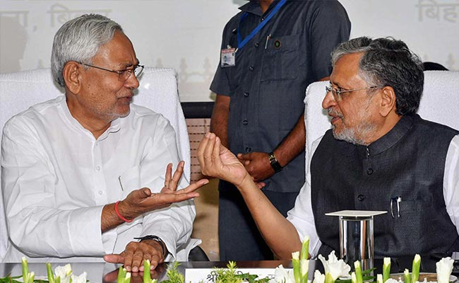 Complaint Against Nitish Kumar, Sushil Modi Over Patna Floods