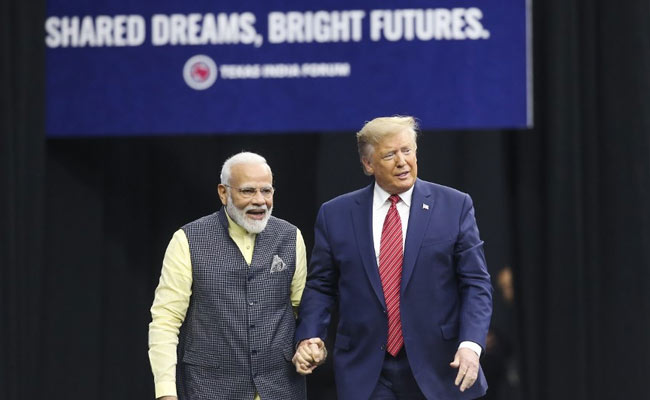 """Didn't Care For His Security"": PM Modi Thanks Trump For 'Howdy, Modi'"