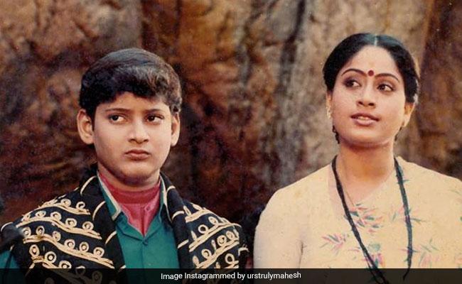 Mahesh Babu's Throwback Pic With Sarileru Neekevvaru Co-Star Vijayashanti Is A Perfect Thursday Treat