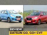 Datsun GO, GO+ CVT Review