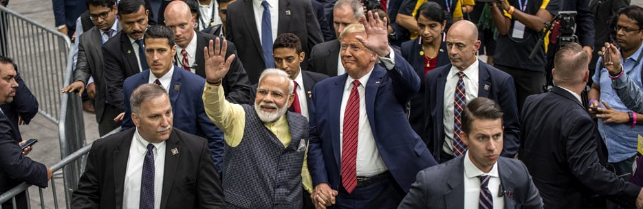 'Where Were 9/11, 26/11 Plotters Found?': PM Slams Pak, Trump In Audience