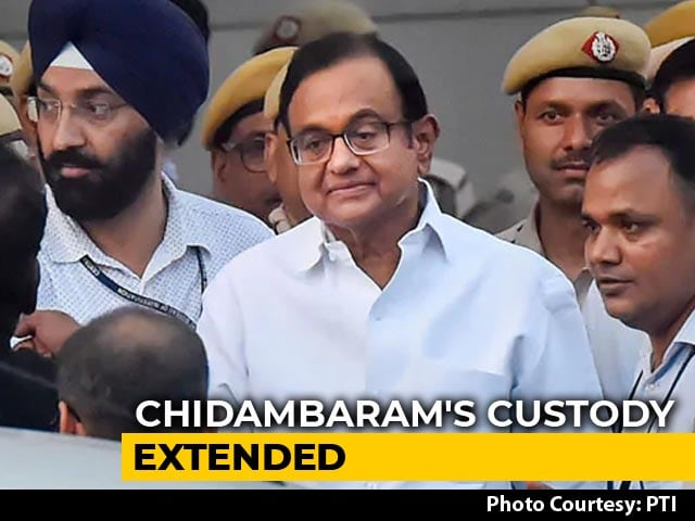 Video : No Bail For P Chidambaram Yet, CBI Custody Extended By Delhi Court